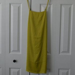 Forever21 Contemporary Yellow Dress